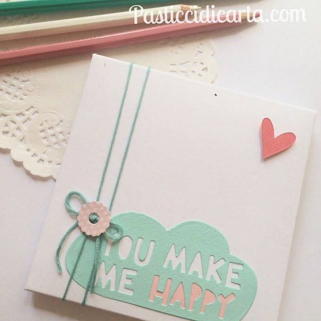 Pasticci di carta - Sizzix project: HAPPY BOX