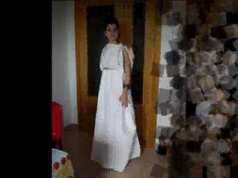 Disfraz romana - YouTube