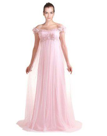*Maillsa Sheath Tulle Pink Wedding Dresses,c0258  Maillsa