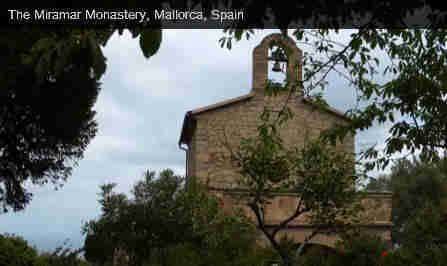 village of Valldemossa Mallorca located 17 kilometres away from Palma in the middle of the valley of Sierra de Tramuntana, 400 kilometres above sea level