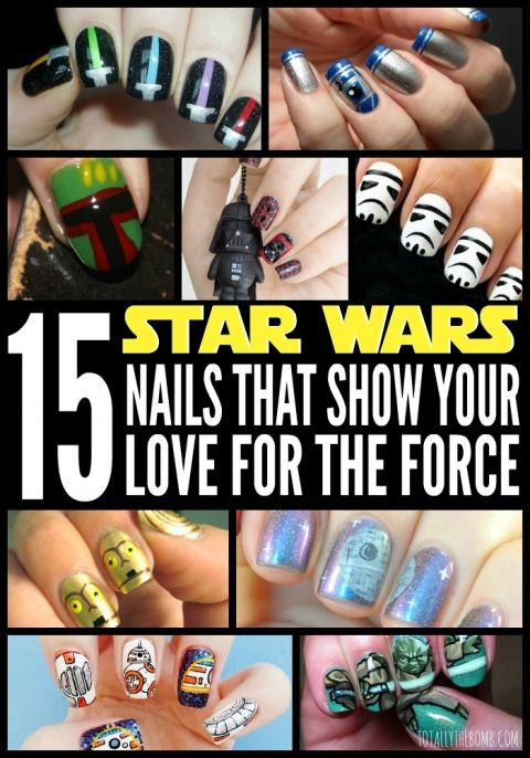 15 Star Wars Nails That Show Your Love For The Force
