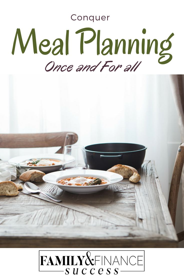 Conquer Meal Planning with Monthly Meal Planning tips, digital software and menu inspirations!