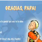 Father's Day cards in Spanish to celebrate el Día del Padre. These printable Spanish Father's Day cards make great Spanish father's day gifts. #FathersdaySpanishquotes #diadelpadre frases http://spanishplayground.net/spanish-fathers-day-cards-to-celebrate-dia-del-padre/