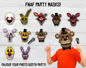 Five Nights at Freddy's masks Five Nights at by DecorationsLeon