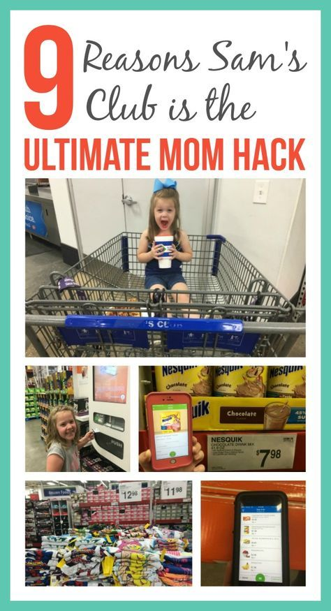 As a mom, time is a precious commodity. I need to save time and money, which isn't always possible, but it is with Sam's Club!