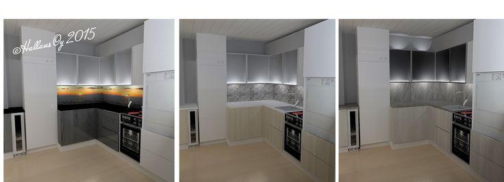 3 #kitchen variations. #interiordesign #renovation   #interiorarchitect
