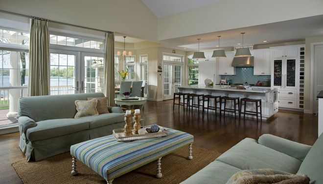 Sherwin williams agreeable gray traditional living room for Sherwin williams living room ideas