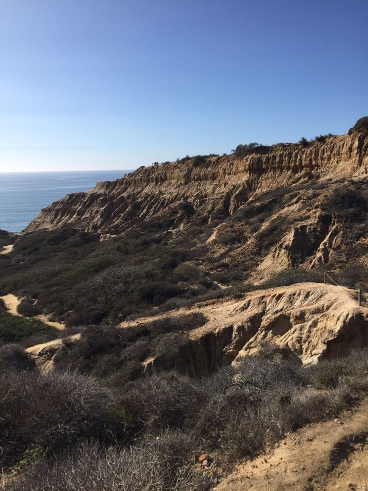 Beautiful day for a #hike through Torrey Pines, San Diego, #California!