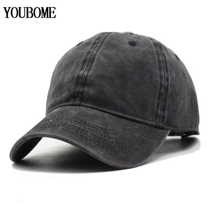 Women Snapback Caps Men Baseball Cap Hats For Men Casquette Plain Bone Gorras Cotton Washed Blank Vintage Baseball Caps Sun Hat