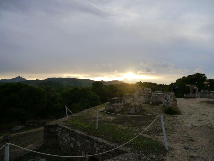 Sonnenuntergang, Griechenland, Reisen, Insel Ägina
