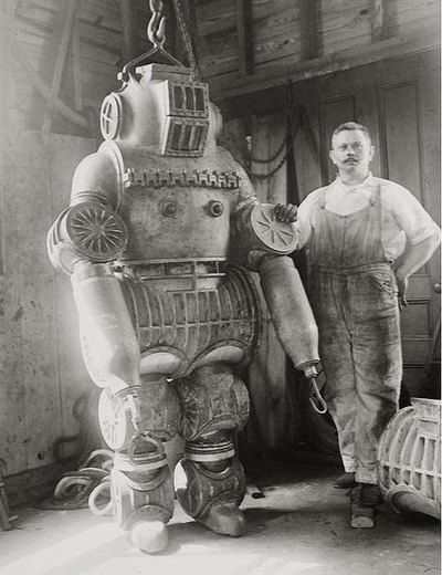 The advent of the mechanical man. 1890-1920 | robots | vintage | ram2013