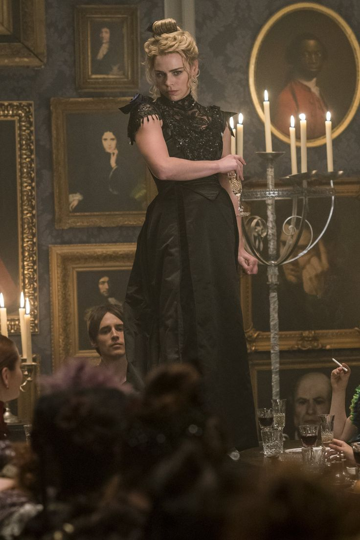 Reeve Carney as Dorian Gray/ Billie Piper as Brona Croft (Lilly) in Penny Dreadful Season 3 ep: Ebb Tide.
