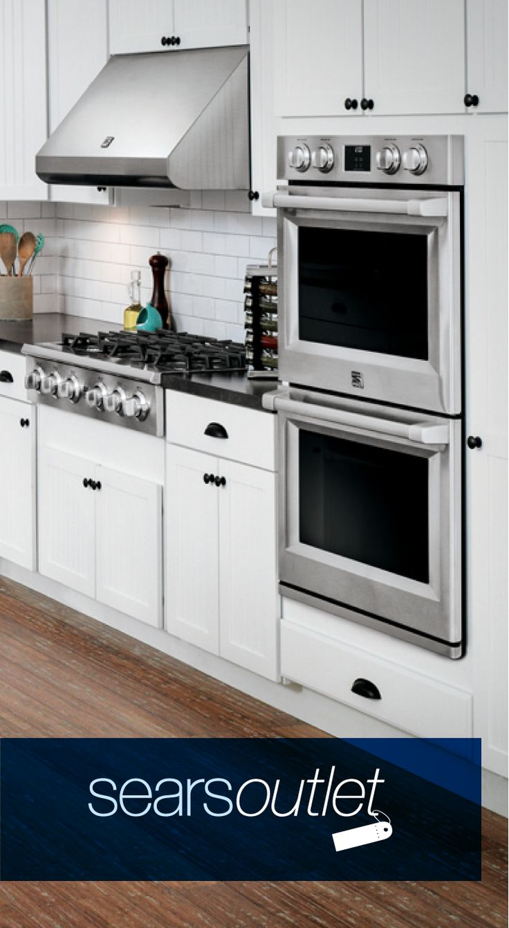 From ovens and cooktops to range hoods and warming drawers, find everything you need for your #dreamkitchen renovation at Sears Outlet. Save up to 50% on cooking appliance brands like Kenmore, GE Appliances, Whirlpool, KitchenAid, Frigidaire, and more!