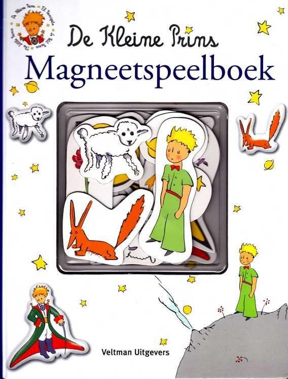 De Kleine Prins - Magneetspeelboek - Melanie Rhauderwiek (tekst en concept). Children's book with magnets (+4). Veltman Uitgevers, 2012