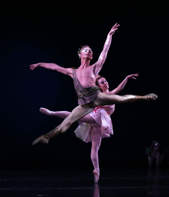 American Repertory Ballet Stages World Premiere Of Douglas Martin's A Midsummer Night's Dream [Full Story At: http://dnce.co/1BjemPP]