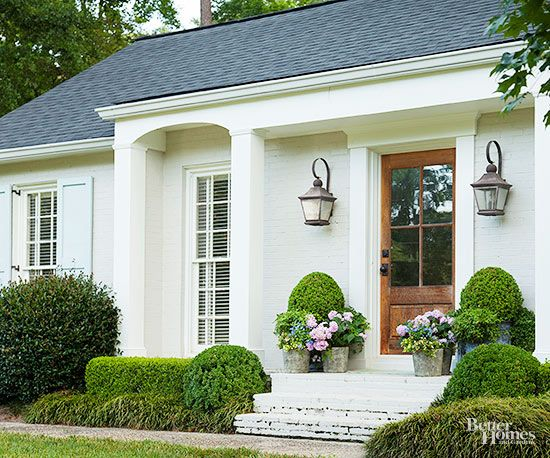 Sources Wall Paint Shutters Standing Lantern At Front Door Original To House Entry By Garage Oxford Hanging F8