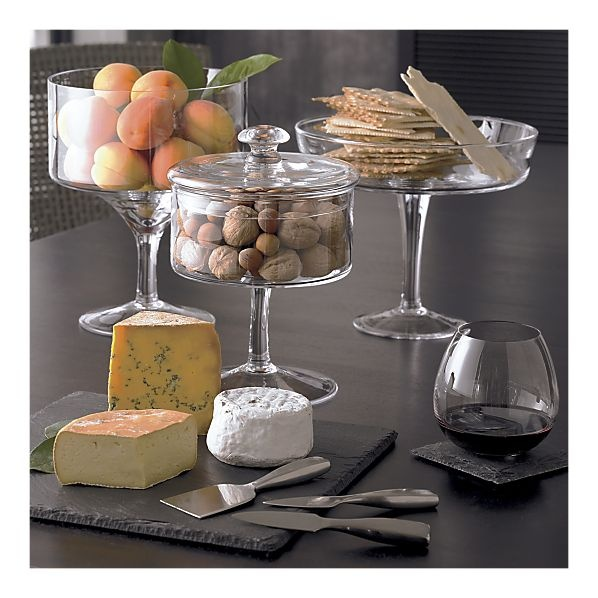 Great center piece...several set down along rustic table...centerpiece and appetizers taken care of....