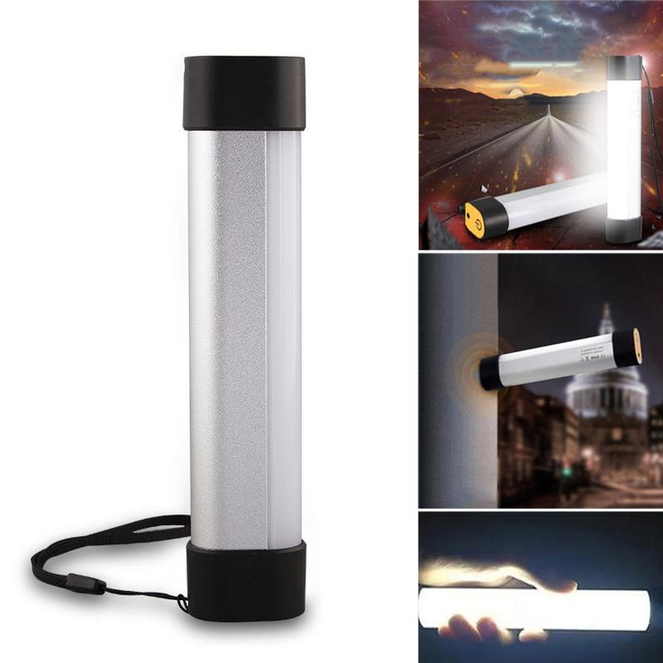 Outdoor Portable Magnetic Lantern 16 LED USB Rechargeable Camping Light Lamp Emergency Torch