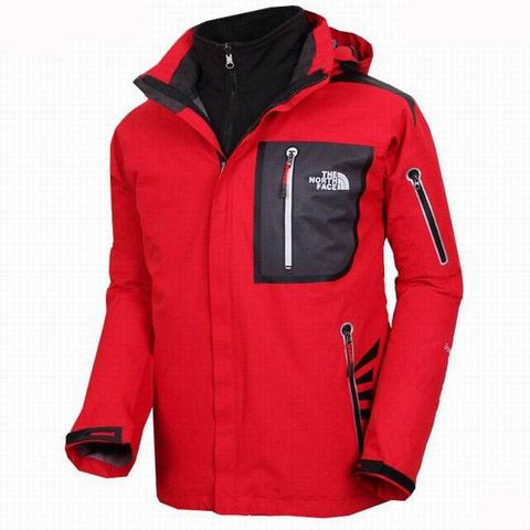 Mens The North Face Triclimate 3 In 1 Jacket Marron Red