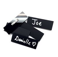 Chalkboard Name Tags - Chalk Accessories | Chalk Ink Markers