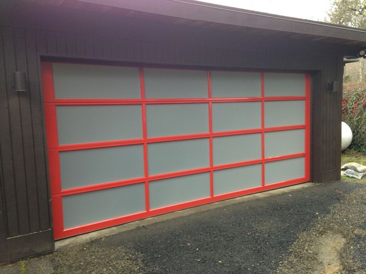 Clopay Avante Collection Glass Garage Door Installed By Kitsap Garage Door  In Bremerton, WA.
