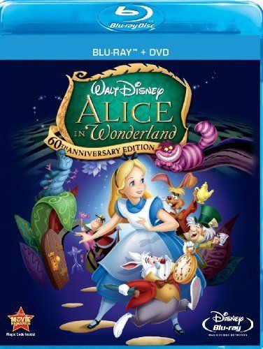 Alice In Wonderland (Two-Disc 60th Anniversary Blu-ray/DVD Combo) by Walt Disney Studios Home Entert @ niftywarehouse.com #NiftyWarehouse #Geek #Gifts #Collectibles #Entertainment #Merch