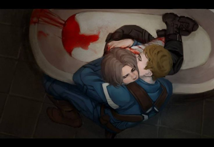-Steve came home from a mission and found Bucky huddled in the bathtub. Hiding? Having some kind of episode? He'd broken in somehow, found a knife, tried to carve away the metal—not the first time, to judge by the scars.- Steve's always afraid, now, of going off onto missions. Because he knows he'll have to leave Bucky behind.