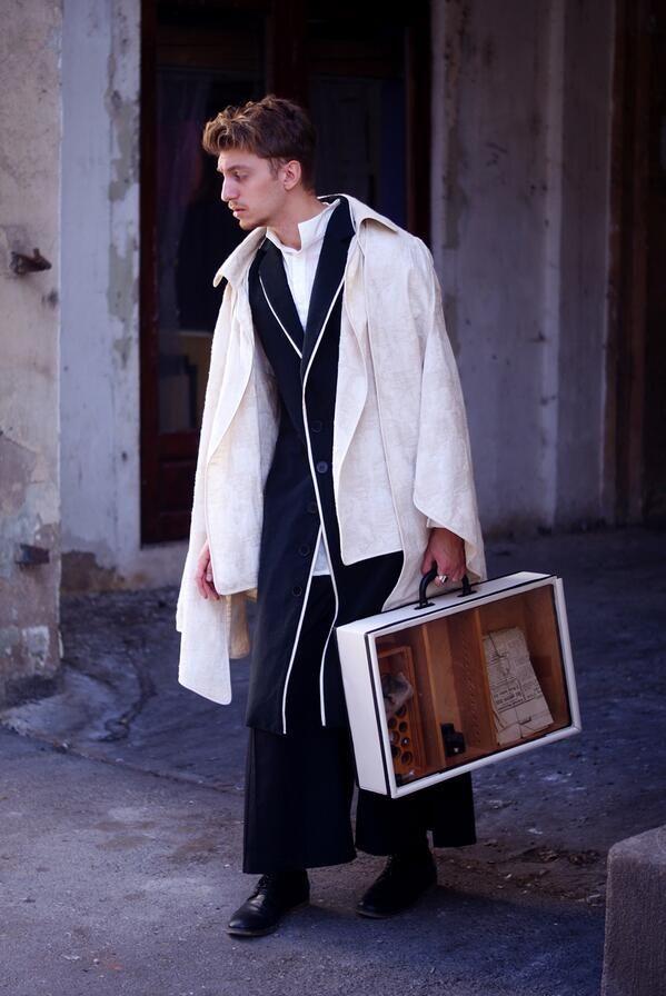 Joseph Cornell meets the briefcase via Andreea Castrase