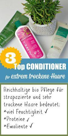 Aktiv-Spülung von Biofficina Toscana, MADARA Repair Spülung und das Rosa Mosqueta Conditioner von Aubrey Organics: Meine TOP 3 für extrem trockene Haare