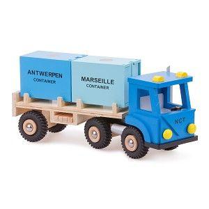 Jucării noi Classic - camioane cu 2 containere