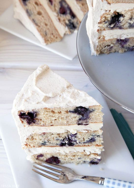 Blueberry Breakfast Cake -  Why not bring cake to the breakfast party and eat cake for breakfast!  With this Blueberry Breakfast Cake, everyone can enjoy the nostalgic flavors of blueberry pancakes all at once.