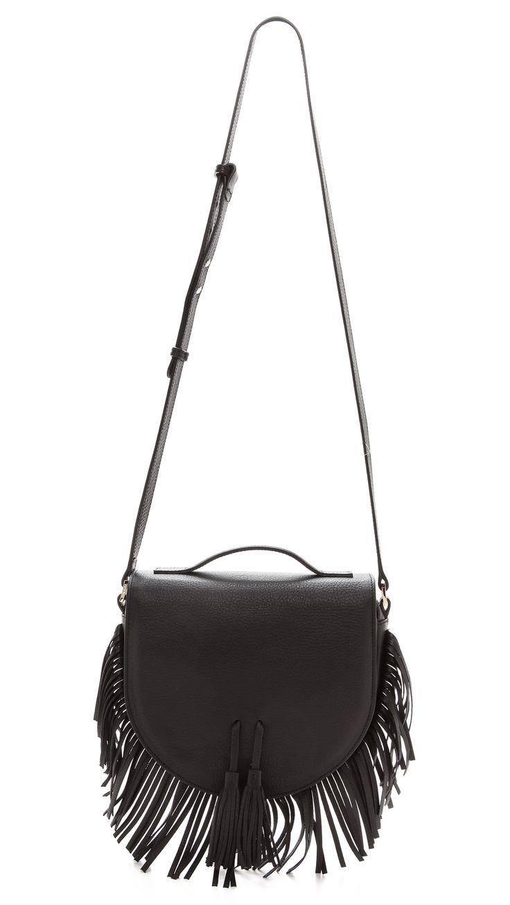 Cleobella Богемная сумка-портфель с бахромой | SHOPBOP