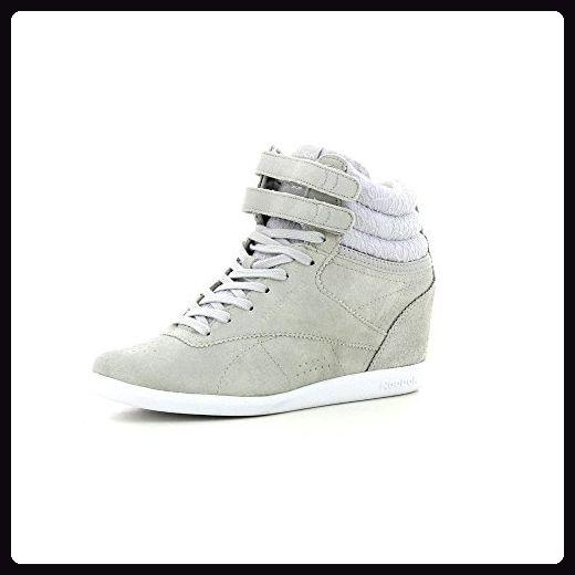 Reebok Freestyle Wedge Night Out - Grau - 40 - Sneakers für frauen (*Partner-Link)