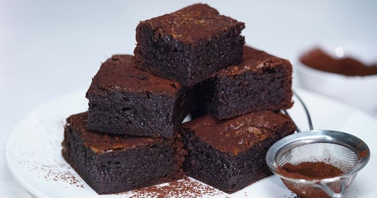 For those of us who need to keep gluten-free, these brownies will satisfy the chocolate craving.