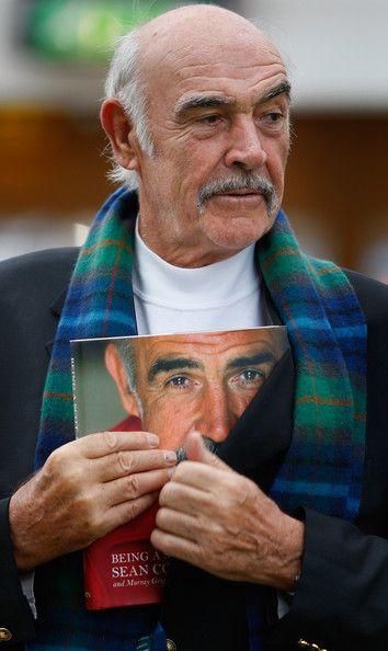 Sir Sean Connery Unveils Memoirs At Edinburgh Book Festival