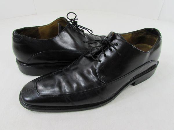 Cole Haan Air Adams split toe men's #13 black leather oxfords #ColeHaan  #Oxfords