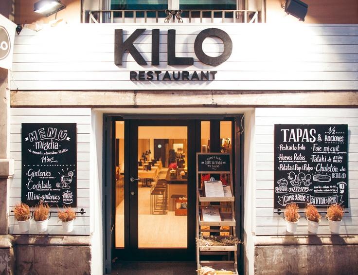 Kilo restaurant, Balmes 165