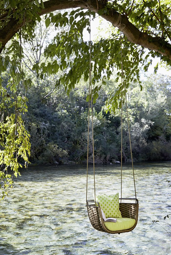 10 fauteuils suspendus outdoor : Fauteuil Portofino, Santiago Sevillano (Roberti…