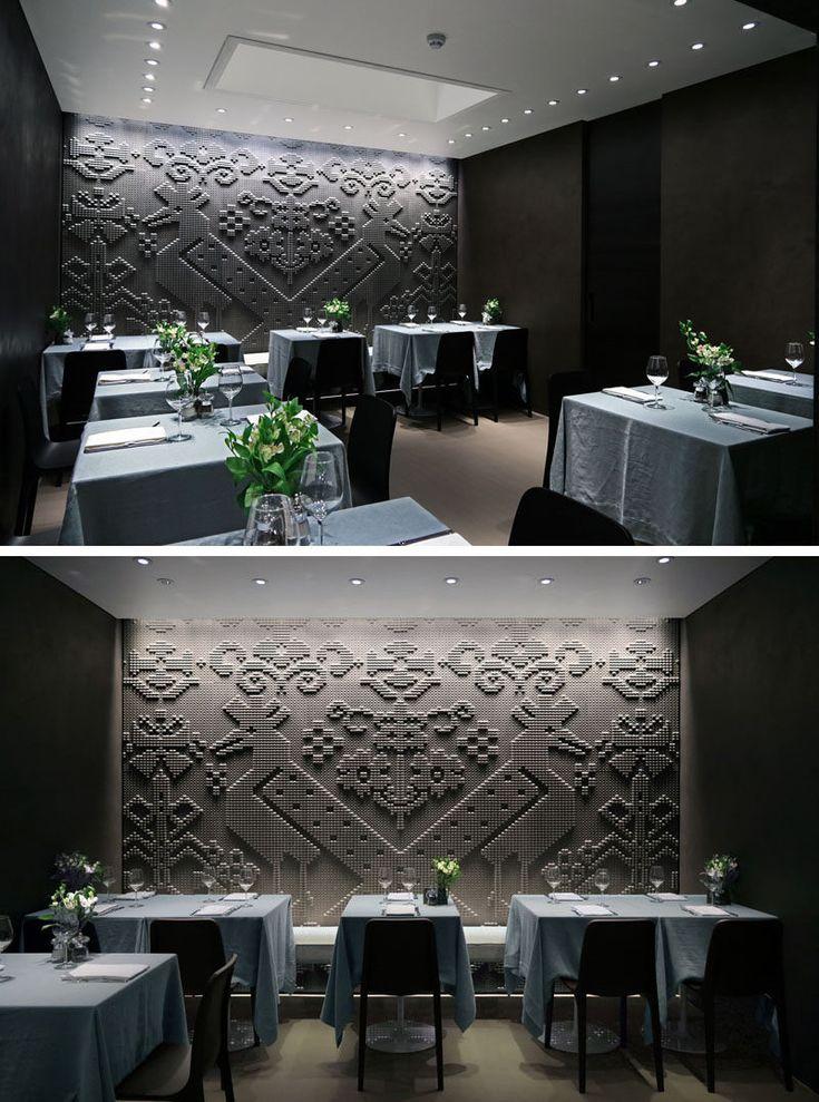 M s de 25 ideas incre bles sobre restaurante moderno en pinterest bar moderno cafes modernos - Deco restaurant moderne ...