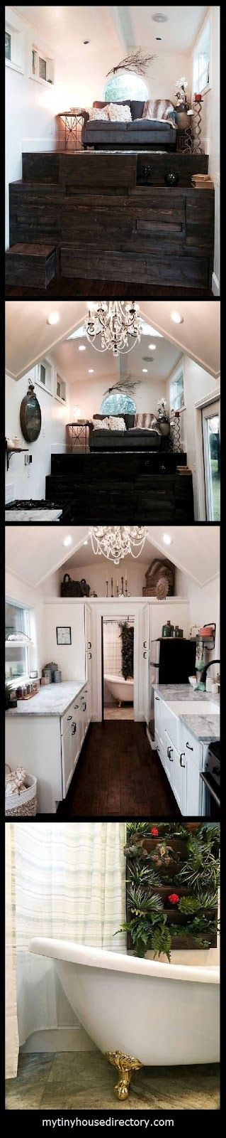 mytinyhousedirectory: This Tiny House is a Luxurious Tiny Mansion