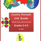 Take your students for a trip around the world in Themes.  We have bundled our country specific thematic units into one easy download ....... http://www.teacherspayteachers.com/Product/Country-Thematic-Units-Bundle-for-Grades-3-4-5-977334
