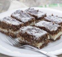 Recette - Carrés chocolat noix de coco - Notée 4/5 par les internautes
