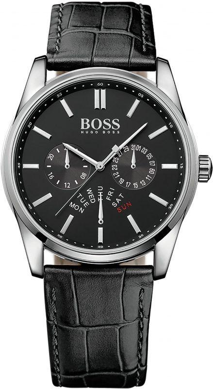 BOSS Multifunktionsuhr, »HERITAGE, 1513124« – Armbanduhren Center