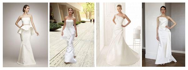 свадебные платья в стиле минимализм #wedding #dress #bride #weddingdress