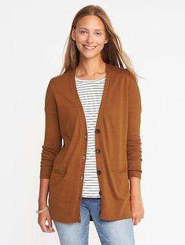 Old Navy's boyfriend cardi this year! I wear mine from last year all the time.