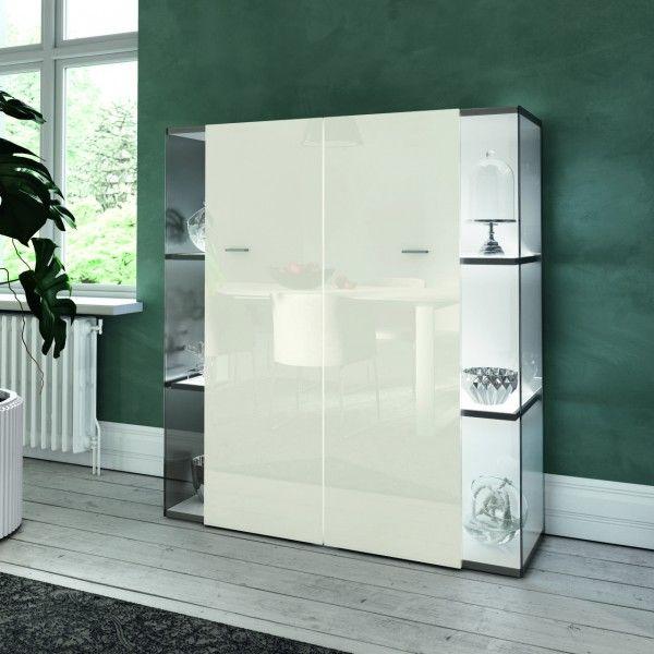 Schrank Weiß Hochglanz 140 Cm Breit
