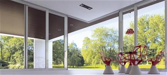 M300 is a complete thermal break system for large dimensions lift & slide doors, with vents up to 400 Kg, which supports a wide range of constructions including combinations with sliding shutters or/and sliding fly screens, pocket doors.  For further information visit our website: http://www.alumil.com/en/products/doors-windows/sliding-systems/m300/