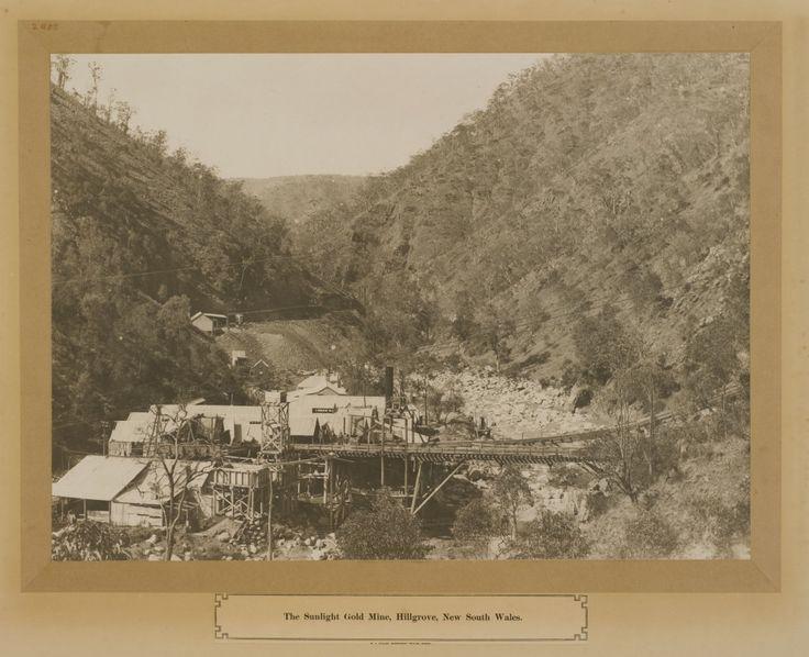 Sunlight Gold Mine, Hillgrove, New South Wales, Australia