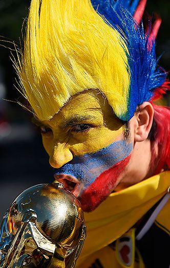 Brasil 2014: La 'Fiebre Amarilla' de la selección Colombia se sintió en el Mineirao | EL PAIS