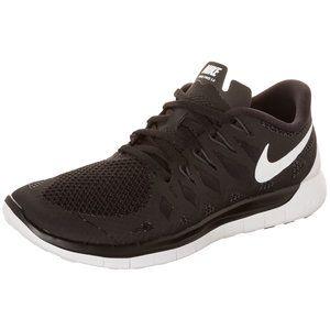 Ganz klassisch: der #Nike Free 5.0 #Running #Laufschuh für Damen in schwarz